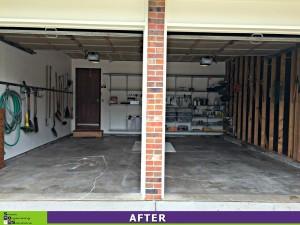 Garage Makeover After