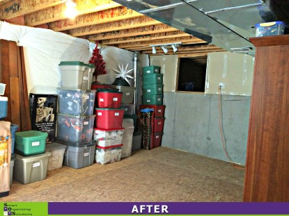 A More Orderly Basement After