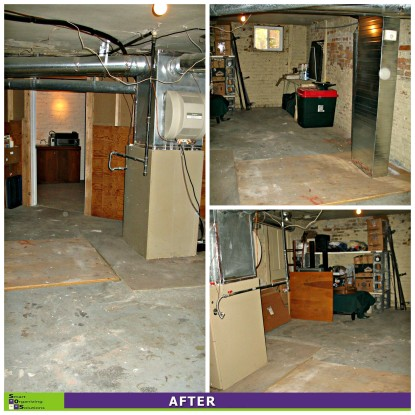 Basement Clean-up After