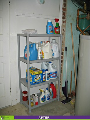 Basement Spruce-up, Laundry Products After