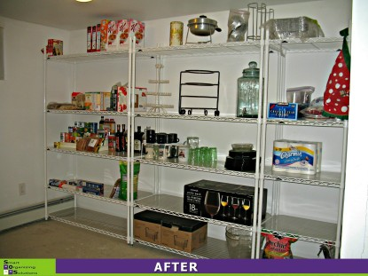 Basement Spruce-up, Pantry After