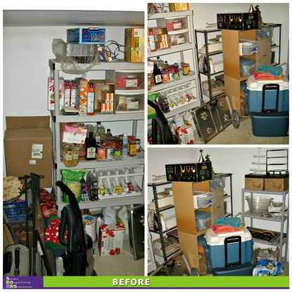 Basement Spruce-up, Pantry Before