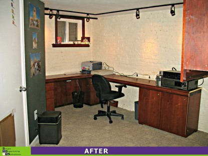 Office, Basement Clean-up After