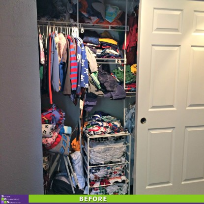 A Boy Reclaims His Closet Before
