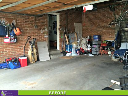 Garage Clean Out Before