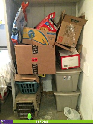 Laundry Room Revamp before