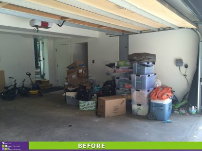 Storage Solutions for a Small Garage Before