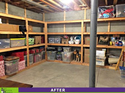 Big Results in a Big Basement After
