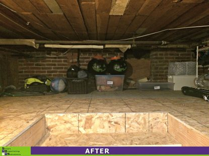 Organized Crawl Space After
