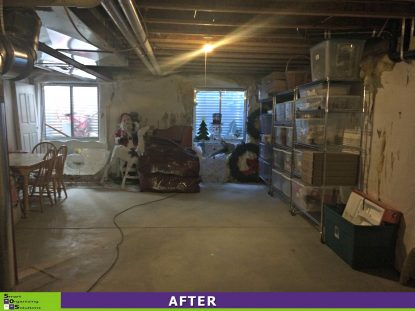 The Big Basement Clean Out After