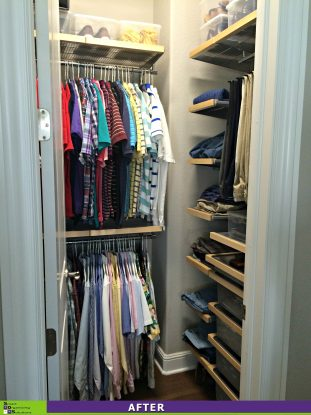 Closet Re-Design After