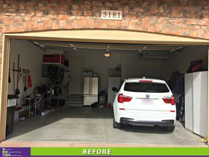 Garage Re-Design Before