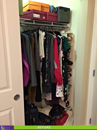 Maximizing a Small Closet After