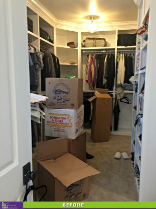 Welcome to Denver Closet Before