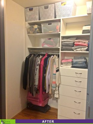 Crammed Closet After
