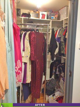 Crammed Closet Before