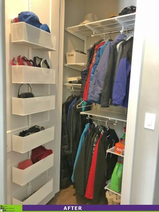 A New and Improved Coat Closet After