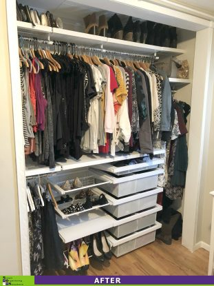 A House with One Closet After
