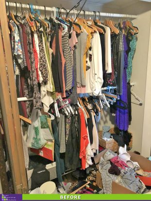 A House with One Closet Before